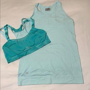 Athleta Top and sports bra